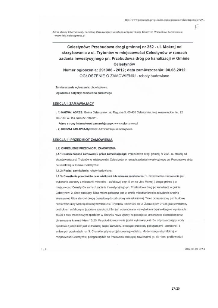 Wniosek komisji rewizyjnej rady gminy Celestynów o nieudzielenie absolutorium za 2012 rok wójt Stefan Traczyk 17